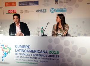 Desarrollo Local, en la Cumbre Latinoamericana de Ciudades y Gobiernos Locales